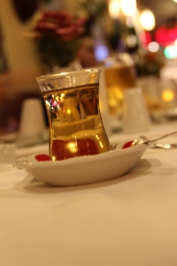 Apple tea, Istanbul